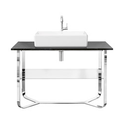 Antheus Marple Countertop with frame made of high-gloss steel | Vanity units | Villeroy & Boch