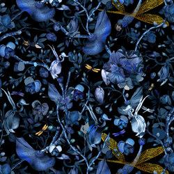 Biophillia   Blue Black Rectangle   Rugs   moooi carpets
