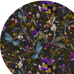 Biophillia   Dark Slate Round   Rugs   moooi carpets