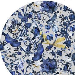 Biophillia   Blue Grey Round   Rugs   moooi carpets