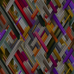 Kubrick Rectangle | Formatteppiche | moooi carpets