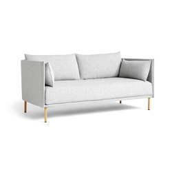 Silhouette 2 Seater Duo Low Backed | Sofas | HAY