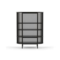 Bastone Cabinet – Black | Cabinets | Poiat