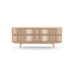 Bastone Sideboard with Doors – Oak   Sideboards   Poiat