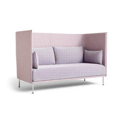 Silhouette 2 Seater Duo High Backed | Sofas | HAY