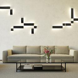 Dent large LED GE | Wall lights | Modular Lighting Instruments