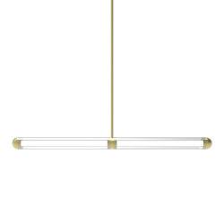 Capsule Keski Brushed Brass   Suspended lights   Cameron Design House