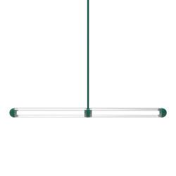 Capsule Keski Tropical Green   Suspended lights   Cameron Design House