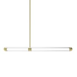 Capsule Saldo Brushed Brass | Suspended lights | Cameron Design House
