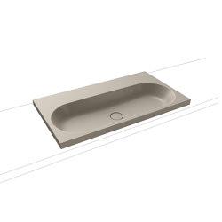 Centro countertop washbasin 120 mm perl grey matt   Lavabi   Kaldewei