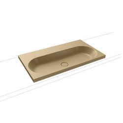 Centro countertop washbasin 120 mm prairie beige matt   Lavabi   Kaldewei
