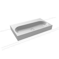 Centro inset countertop washbasin 40 mm manhattan | Lavabi | Kaldewei