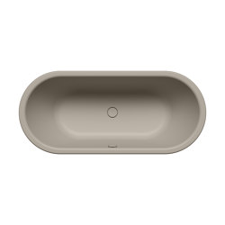 Centro Duo Oval perl grey matt | Vasche | Kaldewei