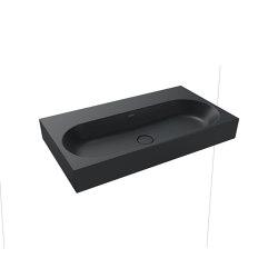 Centro wall-hung washbasin catania grey matt | Lavabi | Kaldewei