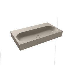 Centro wall-hung washbasin perl grey matt | Lavabi | Kaldewei