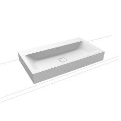 Cono countertop washbasin 120 mm alpine white matt | Wash basins | Kaldewei
