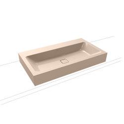 Cono countertop washbasin 120 mm bahamabeige | Wash basins | Kaldewei