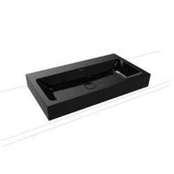 Cono countertop washbasin 120 mm black | Wash basins | Kaldewei