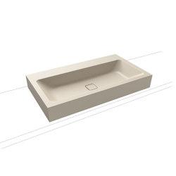 Cono countertop washbasin 120 mm seashell cream matt | Wash basins | Kaldewei