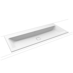 Cono built-in double washbasin alpine white matt | Lavabi | Kaldewei