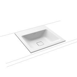 Cono built-in washbasin alpine white matt | Wash basins | Kaldewei