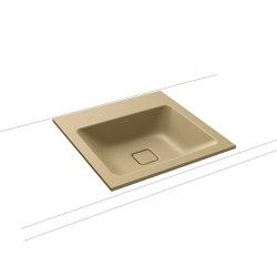 Cono built-in washbasin prairie beige matt | Wash basins | Kaldewei