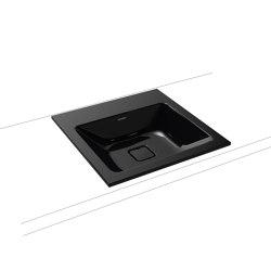 Cono built-in washbasin black | Wash basins | Kaldewei