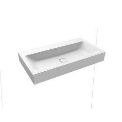 Cono wall-hung washbasin alpine white matt | Wash basins | Kaldewei
