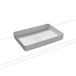 Miena washbowl alpine white matt (rectangular)   Wash basins   Kaldewei