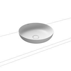 Miena washbowl alpine white matt (round) | Wash basins | Kaldewei