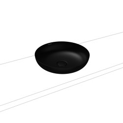 Miena washbowl lava black matt (round) | Wash basins | Kaldewei