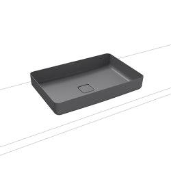 Miena washbowl oyster grey matt (rectangular)   Wash basins   Kaldewei