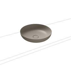 Miena washbowl perl grey matt (round) | Wash basins | Kaldewei