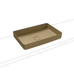 Miena washbowl prairie beige matt (rectangular)   Wash basins   Kaldewei