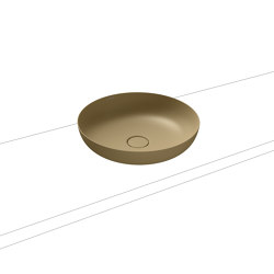 Miena washbowl prairie beige matt (round) | Wash basins | Kaldewei