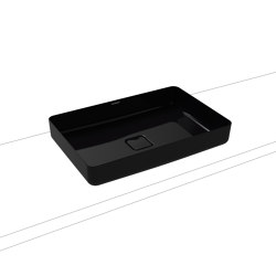 Miena washbowl washbasin black (rectangular)   Wash basins   Kaldewei