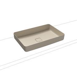 Miena washbowl seashell cream matt (rectangular)   Wash basins   Kaldewei