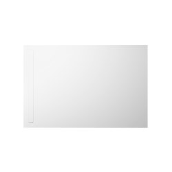 Nexsys alpine white matt I Cover powder-coated alpine white | Shower trays | Kaldewei