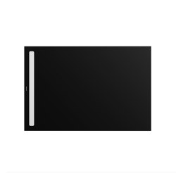 Nexsys lava black matt I Cover powder-coated alpine white | Shower trays | Kaldewei