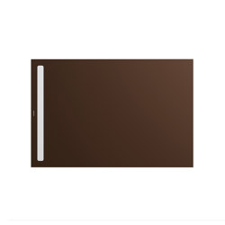 Nexsys maple brown matt I Cover powder-coated alpine white | Platos de ducha | Kaldewei