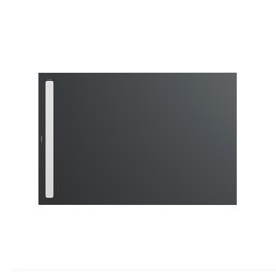 Nexsys pasadena grey matt I Cover powder-coated alpine white | Shower trays | Kaldewei
