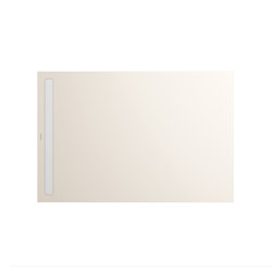 Nexsys pergamon I Cover powder-coated alpine white | Shower trays | Kaldewei