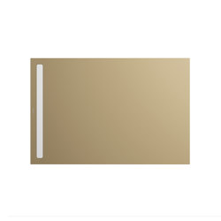 Nexsys prairie beige matt I Cover powder-coated alpine white | Shower trays | Kaldewei