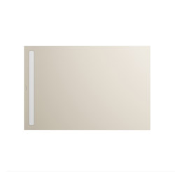 Nexsys seashell cream matt I Cover powder-coated alpine white | Shower trays | Kaldewei