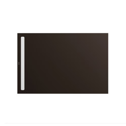 Nexsys woodberry brown matt I Cover powder-coated alpine white | Shower trays | Kaldewei