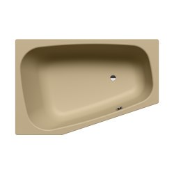 Plaza Duo right prairie beige matt | Bañeras | Kaldewei