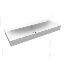 Silenio wall-hung double washbasin alpine white matt | Lavabi | Kaldewei