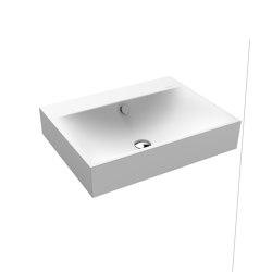 Silenio wall-hung washbasin alpine white matt | Wash basins | Kaldewei