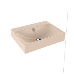 Silenio wall-hung washbasin bahamabeige | Wash basins | Kaldewei