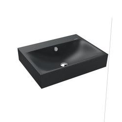 Silenio wall-hung washbasin catania grey matt | Wash basins | Kaldewei